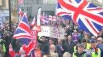 Thousands of pro-Brexit demonstrators march through London